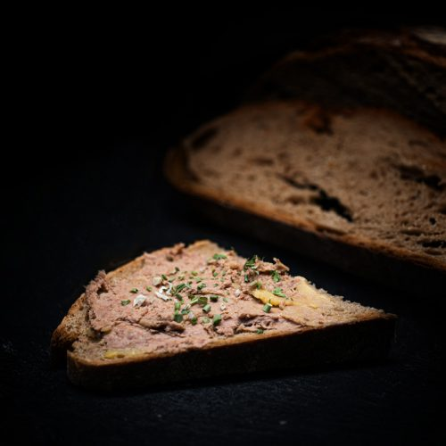 MAHABU Strauß Leberwurstbrot