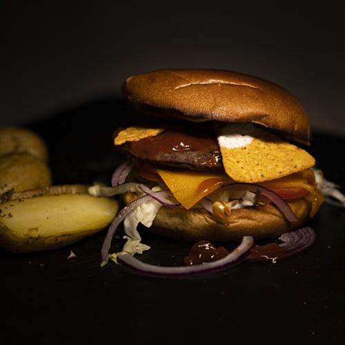 Tacco Burger – MAHABU Straußenpattie